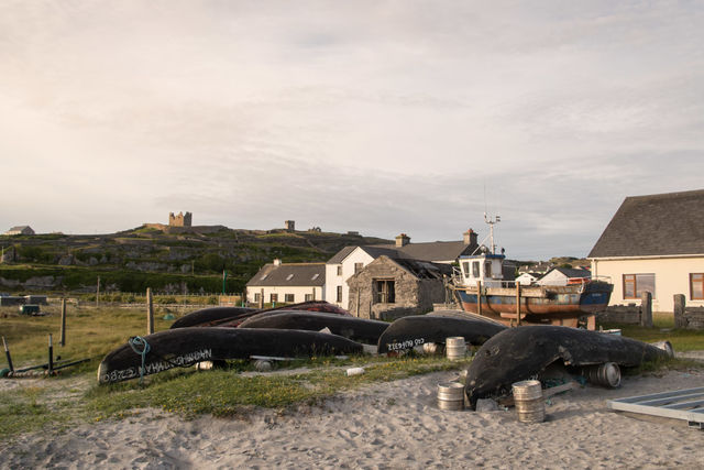 Aran Islands, Inisheer, Ireland May 2017, fishing, fishing village