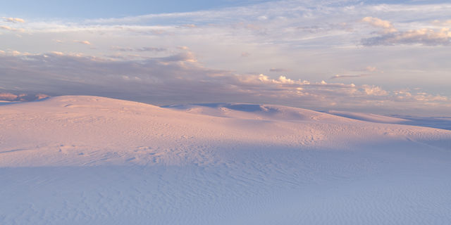 White Sands National Monument, evening