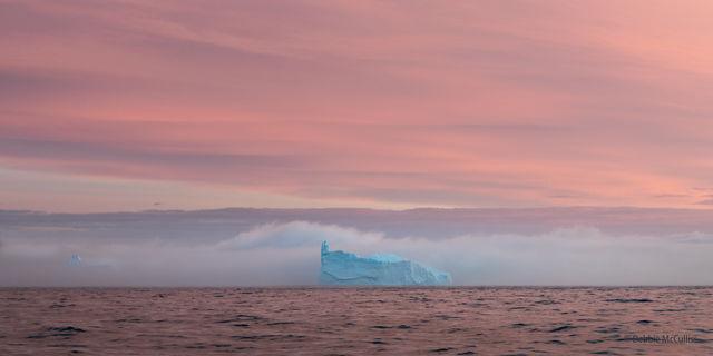 Iceberg at Sunrise