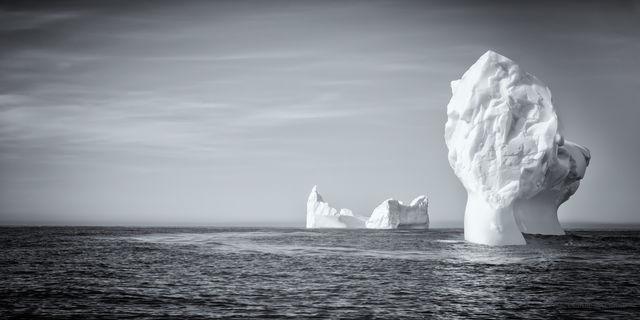 Icebergs on Zodiak Cruise
