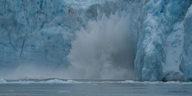 LaConte Bay Glacier Calving