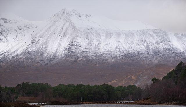 Scotland in March in the Pouring Rain