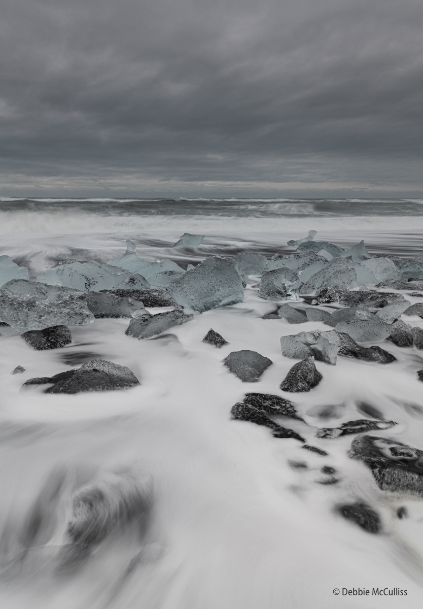 Diamond Beach, Iceland, photo