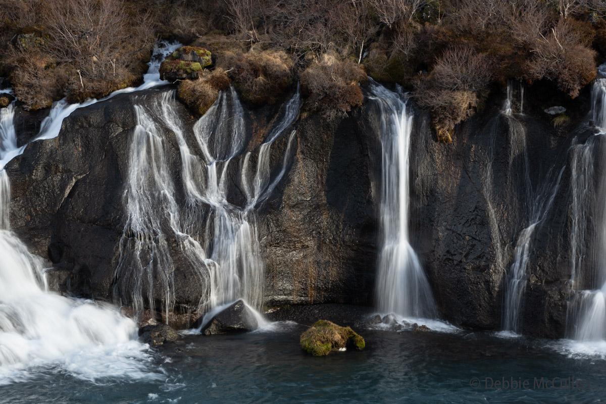 Hraunfossar Waterfalls, Iceland, photo