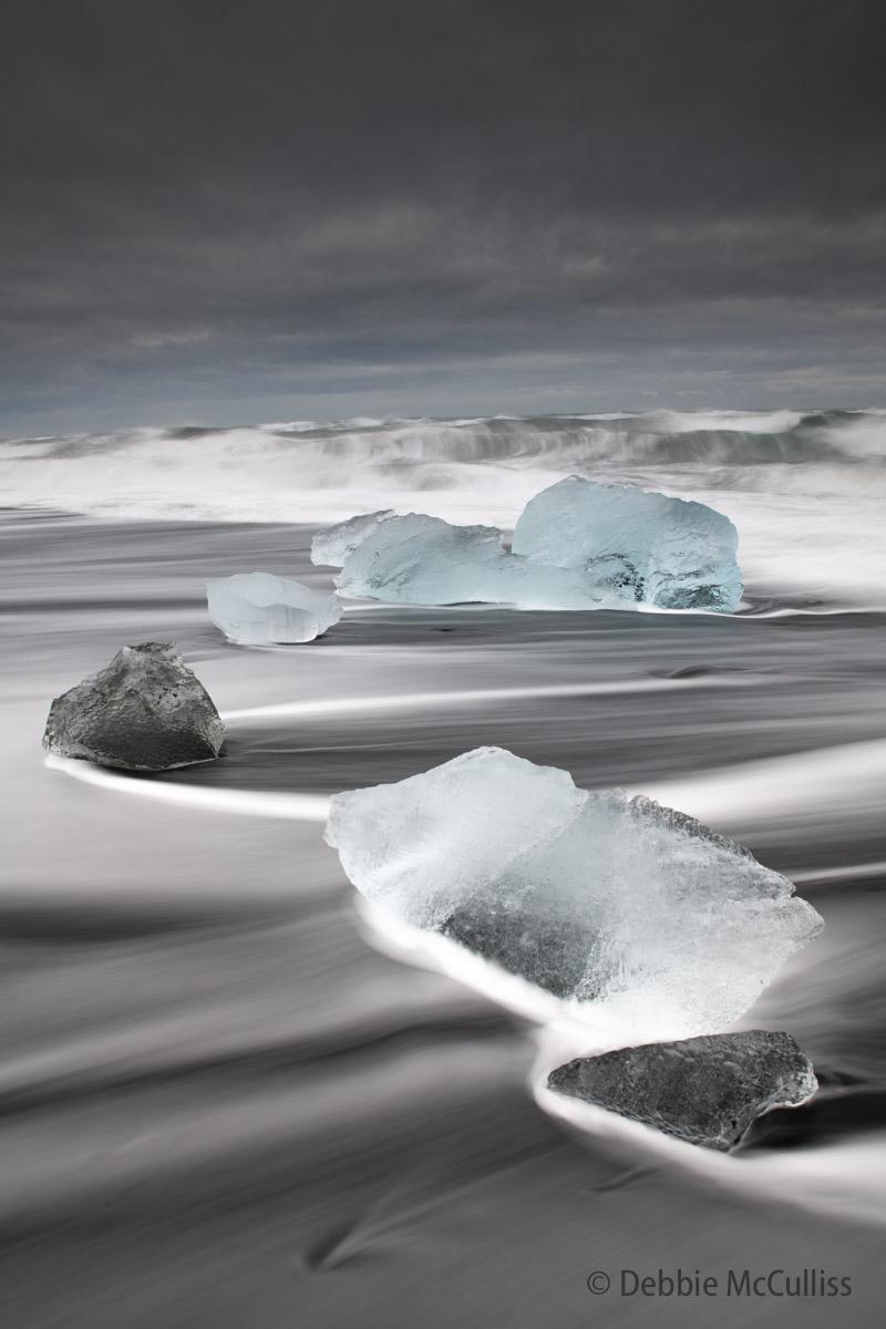 Diamond Beach, Iceland, Jokulsarlon, Jokulsarlon Ice Beach, photo