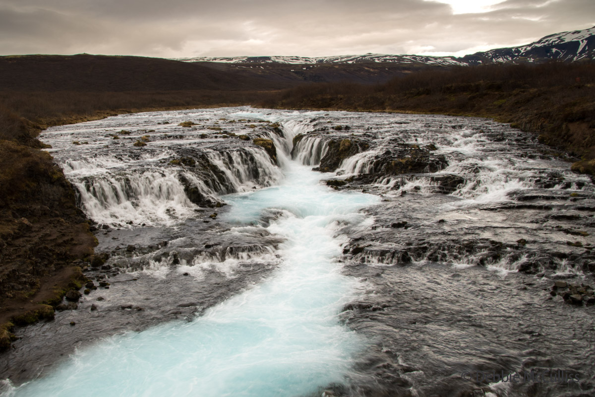 Iceland, waterfall, Bruarfoss, photo