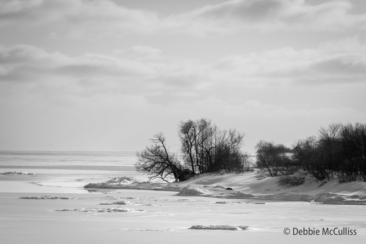 Lake Ontario, Canada, Great Lakes, winter, photo